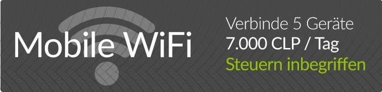 Mobile WiFi Verbinde 5 Geräte