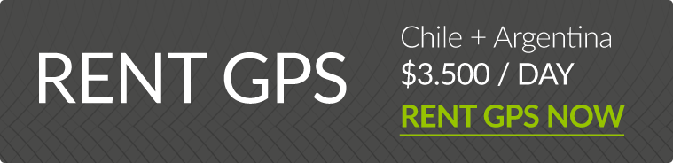 Rent a GPS for Chile and Argentina