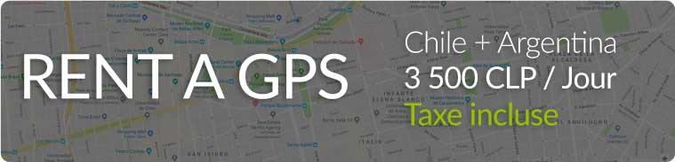 Rent a GPS Chile + Argentina