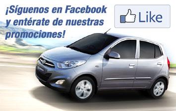 Síguenos en Facebook y entérate de nuestras promociones!