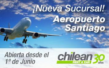 Nueva sucursal aeropuerto Santiago