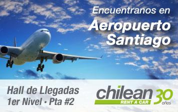 Encuentranos en el Aeropuerto de Santiago